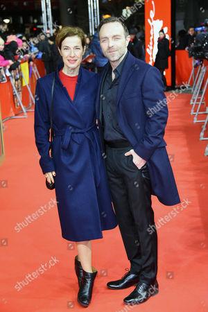 Stock Image of Clelia Sarto + Ehemann Aleksandar Jovanovic