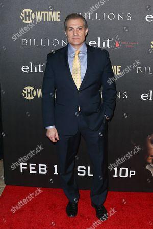 Editorial image of 'Billions' TV Series Season 2 premiere, New York, USA - 13 Feb 2017