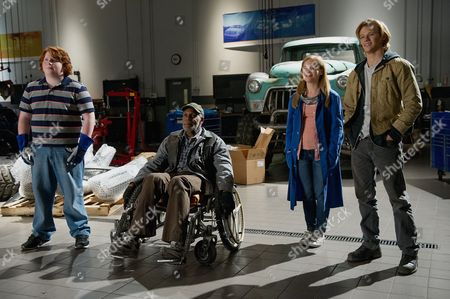 Stock Picture of Tucker Albrizzi, Danny Glover, Jane Levy, Lucas Till