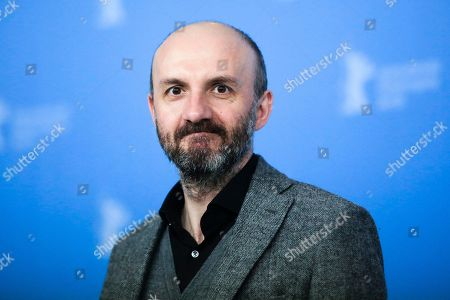 Stock Image of Actor Joao Pedro Vaz poses for the photographers during a photo call for the film 'Colo' at the 2017 Berlinale Film Festival in Berlin, Germany