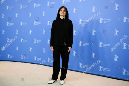 Stock Picture of Director Teresa Villaverde poses for the photographers during a photo call for the film 'Colo' at the 2017 Berlinale Film Festival in Berlin, Germany