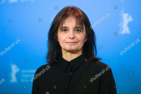 Director Teresa Villaverde poses for the photographers during a photo call for the film 'Colo' at the 2017 Berlinale Film Festival in Berlin, Germany