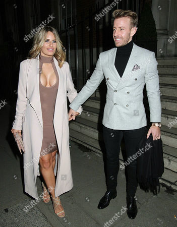Editorial photo of Danielle Armstrong out and about, London, UK - 14 Feb 2017