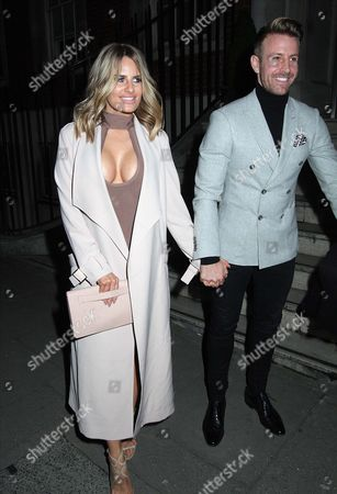 Stock Image of Danielle Armstrong and Daniel Spiller