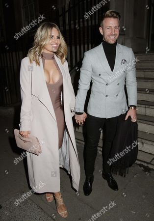Stock Photo of Danielle Armstrong and Daniel Spiller