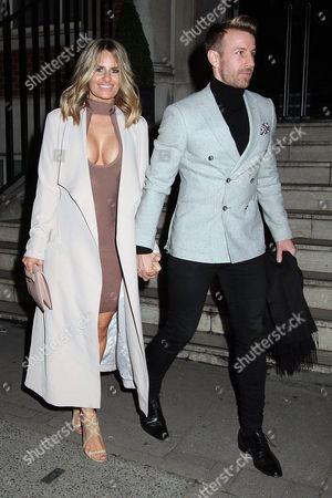 Editorial image of Danielle Armstrong out and about, London, UK - 14 Feb 2017