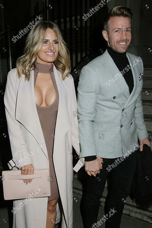 Editorial picture of Danielle Armstrong out and about, London, UK - 14 Feb 2017