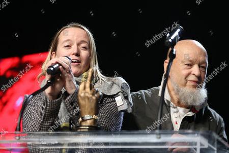 Emily Eavis and Michael Eavis - Glastonbury - Winner of Best Festival