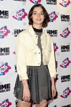 Editorial photo of VO5 NME Awards, Arrivals, London, UK - 15 Feb 2017