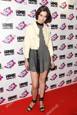 Editorial picture of VO5 NME Awards, Arrivals, London, UK - 15 Feb 2017