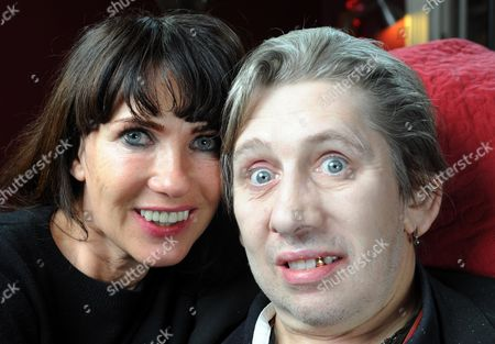 Veteran Hell Raiser And Pogues Frontman Shane Macgowan With His Girlfriend Victoria Mary Clarke At Home In Dublin Ireland...shane Has Had Twenty Two Teeth Replaced After Being Persuaded To Do So By Victoria.