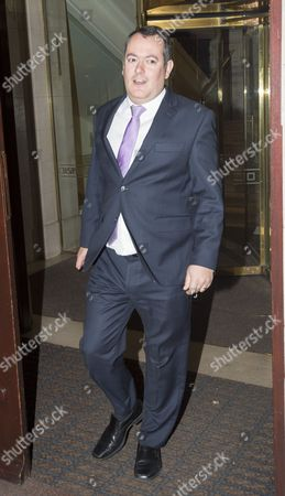 Stock Picture of Michael Dugher Mp And Former Cabinet Culture Secretary Who Was Removed By Jeremy Corbyn During His Reshuffle Leaving Westminster Last Night (tuesday). 05.01.16.