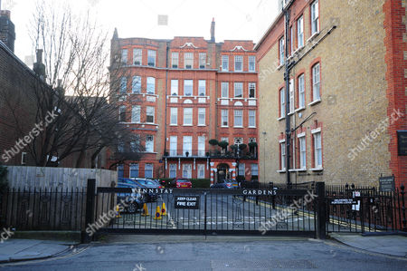 Editorial picture of Wynnstay Gardens Allen St London W8 Homes Where Victoria Glendinning Has Lived 2016/01/04 Picture By Georgie Gillard.