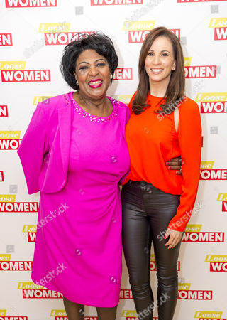 Rusty Lee and Andrea McLean