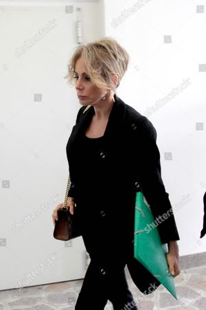 Silvio Berlusconi's Daughter and Head of Fininvest Marina Berlusconi Arrives at the San Raffaele Hospital to Pay Her Father a Visit Milan Italy 09 June 2016 Silvio Berlusconi Had Been Admitted to Milan's San Raffaele Hospital Tuesday For a Series of Checks After Experiencing Heart Trouble Several Days Ago Sources at His Forza Italia Party Said Hospital Sources Said That the Admission was Precautionary and That No Surgery was Planned on the Centre-right Leader For the Time Being Italy Milan