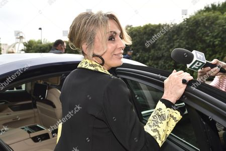 Marina Berlusconi Arrives at the San Raffaele Hospital to Pay Her Father a Visit in Milan Italy 11 June 2016 Former Italian Premier Silvio Berlusconi is to Undergo Surgery Next Week to Have a New Aortic Valve After Tests at Milan's San Raffaele Hospital Found He was Suffering From 'Severe Aortic Insufficiency' That Had Placed His Life at Risk Italy Milan