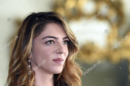 Italian Actress/cast Member Giulia Ando Poses For Photographs During the Photo Call For the Movie 'Le Confessioni' in Rome Italy 11 April 2016 the Movie Will Be Released in Italian Theaters on 21 April Italy Rome