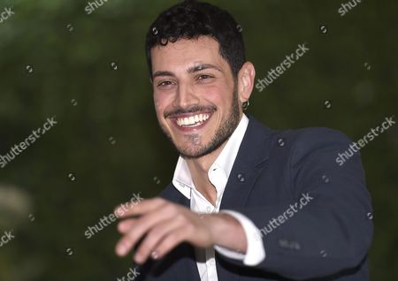 Stock Image of Italian Actor/cast Member Emanuel Caserio Poses For Photographs During the Photocall For the Movie 'Forever Young' in Rome Italy 03 March 2016 the Movie Will Be Released in Italian Theaters on 10 March Italy Rome