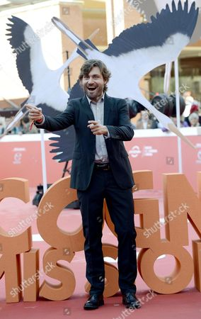 Italian Actor Federico Russo Arrives For the Premiere of 'Cicogne in Missione' at the 11th Annual Rome Film Festival in Rome Italy 16 October 2016 the Festival Running From 13 to 23 October Italy Rome
