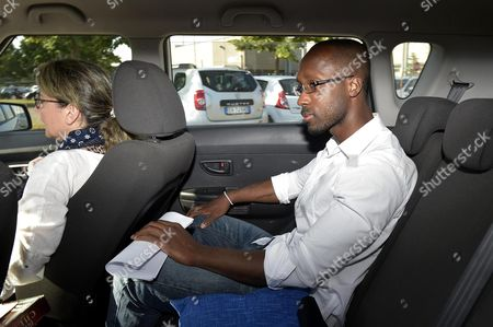 Rudy Guede Leaves Viterbo's Prison to Go to the Gavac Volunteer Centre For Prisoner Assistance in Viterbo 25 June 2016 Guede Convicted in 2008 of the Murder of British Student Meredith Kercher and Currently Serving a 16-year Sentence at a Prison on the Outskirts of Viterbo Has Been Granted a 36-hour Release That Starts Saturday Morning Guede who Has Maintained His Innocence Will Stay at the Gavac Volunteer Centre For Prisoner Assistance in Viterbo Through the Weekend and Return to Prison by 9pm on Sunday He is the Only Person Convinced of the 2007 Murder After American Amanda Knox and Her Italian Former Boyfriend Raffaele Sollecito Were Acquitted Last Year Italy Viterbo