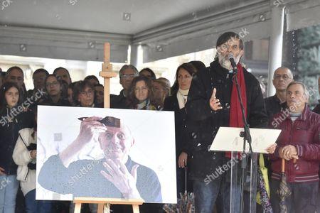 Editorial photo of Italy Literature Dario Fo Funeral - Oct 2016