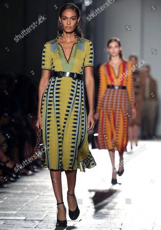 Editorial photo of Italy Milan Fashion Week - Sep 2016