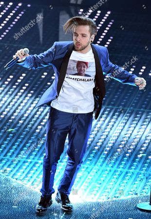 A Picture Made Available on 11 February 2016 Shows Italian Singer Alessio Bernabei Performing on Stage During the 66th Festival of the Italian Song of San Remo in Sanremo Italy 10 February 2016 the 66th Edition of the Television Song Contest Runs From 09 to 13 February Italy Sanremo