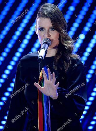 Editorial photo of Italy Music Sanremo - Feb 2016
