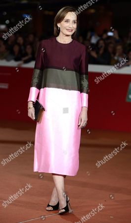 British Actor/cast Member Kristin Scott-thomas Arrives For the Screening of 'The English Patient' at the 11th Annual Rome Film Festival in Rome Italy 22 October 2016 the Film Festival Screened 'The English Patient' Directed by British Filmmaker Anthony Minghella (1954-2008) on the Occasion of 20th Anniversary of the Movie's Release the Festival Runs From 13 to 23 October Italy Rome