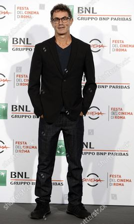 Italian Film Maker Francesco Patierno Poses During the Photocall For the Movie 'Naples 44 (napoli '44)' at the 11th Annual Rome Film Festival in Rome Italy 18 October 2016 the Festival Runs From 13 to 23 October Italy Rome