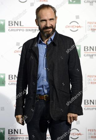 British Actor/cast Member Ralph Fiennes Poses During the Photocall For the Movie 'The English Patient' (il Paziente Inglese) at the 11th Annual Rome Film Festival in Rome Italy 22 October 2016 the Film Festival Celebrates One of the Most Beloved of Cinema History 'The English Patient' by Anthony Minghella Released Twenty Years Ago (in 1996) the Festival Runs From 13 to 23 October Italy Rome