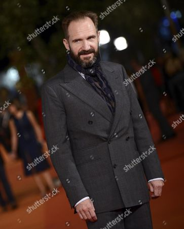 British Actor/cast Member Ralph Fiennes Arrives For the Screening of 'The English Patient' at the 11th Annual Rome Film Festival in Rome Italy 22 October 2016 the Film Festival Screened 'The English Patient' Directed by British Filmmaker Anthony Minghella (1954-2008) on the Occasion of 20th Anniversary of the Movie's Release the Festival Runs From 13 to 23 October Italy Rome