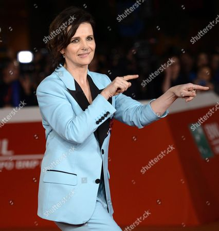French Actress/cast Member Juliette Binoche Arrives For the Screening of 'The English Patient' at the 11th Annual Rome Film Festival in Rome Italy 22 October 2016 the Film Festival Screened 'The English Patient' Directed by British Filmmaker Anthony Minghella (1954-2008) on the Occasion of 20th Anniversary of the Movie's Release the Festival Runs From 13 to 23 October Italy Rome