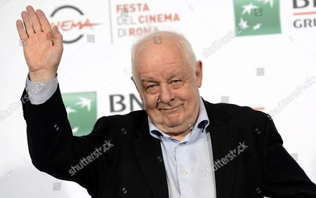 Irish Film Director Jim Sheridan Poses During the Photocall For the Movie 'The Secret Scripture' at the 11th Annual Rome Film Festival in Rome Italy 18 October 2016 the Festival Runs From 13 to 23 October Italy Rome