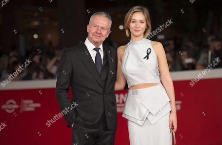Polish Actors/cast Members Boguslaw Linda (l) and Zofia Wichlacz Arrive For the Premiere of 'Powidoki/afterimage' at the 11th Annual Rome Film Festival in Rome Italy 14 October 2016 the Festival Runs From 13 to 23 October Italy Rome