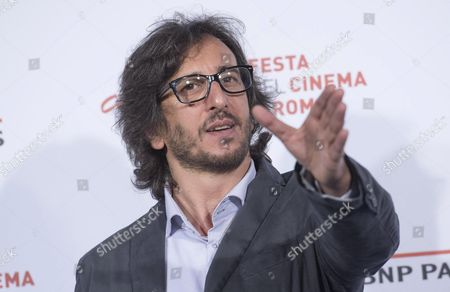 Italian Director Daniele Vicari Poses During the Photocall For the Movie 'Sole Cuore Amore' at the 11th Annual Rome Film Festival in Rome Italy 15 October 2016 the Festival Runs From 13 to 23 October Italy Rome