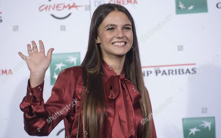Italian Actress/cast Member Giulia Anchisi Poses During the Photocall For the Movie 'Sole Cuore Amore' at the 11th Annual Rome Film Festival in Rome Italy 15 October 2016 the Festival Runs From 13 to 23 October Italy Rome