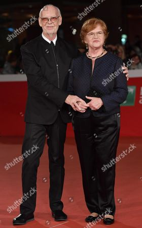 British Film Maker Mick Jackson and Us Historian and Author Deborah Lipstadt Arrive For the Premiere of 'Denial' at the 11th Annual Rome Film Festival in Rome Italy 17 October 2016 the Festival Runs From 13 to 23 October Italy Rome
