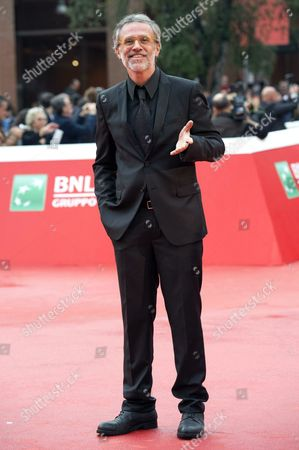 Italian Actor/cast Member Fabrizio Ferracane Arrives For the Premiere of 'Ho Amici in Paradiso' at the 11th Annual Rome Film Festival in Rome Italy 18 October 2016 the Festival Running From 13 to 23 October Italy Rome