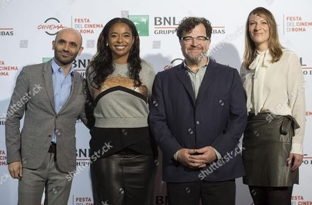 (l-r) Producers Josh Godfrey Kimberly Steward Us Director Kenneth Lonergan and Producer Lauren Beck Poses For Photos During a Photocall For the Movie 'Manchester by the Sea' During the 11th Annual Rome Film Festival in Rome Italy 14 October 2016 the Festival Runs From 13 to 23 October Italy Rome