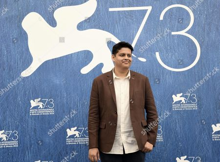 Indian Director Chaitanya Tamhane Member of Orizzonti Jury Poses During a Photocall at the 73rd Venice Film Festival in Venice Italy 31 August 2016 the Festival Runs From 31 August to 10 September Italy Venice