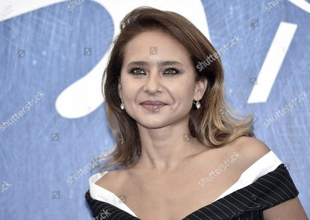 Egyptian Actress Nelly Karim Member of Orizzonti Jury Poses During a Photocall at the 73rd Venice Film Festival in Venice Italy 31 August 2016 the Festival Runs From 31 August to 10 September Italy Venice