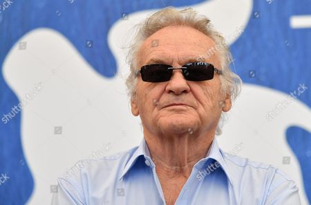 Polish Director Jerzy Skolimowski Poses at a Photocall During the 73rd Annual Venice International Film Festival in Venice Italy 31 August 2016 Skolimowski Will Receive the Golden Lion For Lifetime Achievement Award on 31 August the Festival Runs From 31 August to 10 September Italy Venice