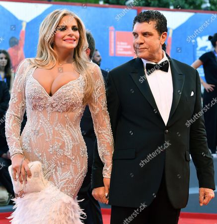 Italian Tv Actress Francesca Cipriani (l) and Giovanni Cottone Arrive For the Opening Ceremony and Screening of 'La La Land' at the 73rd Annual Venice International Film Festival in Venice Italy 31 August 2016 the Festival Runs From 31 August to 10 September Italy Venice