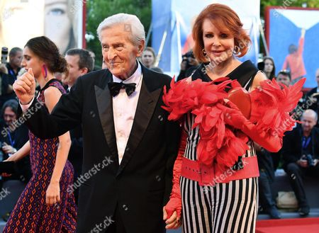Italian Writer Marina Ripa Di Meana (r) and Her Husband Carlo Ripa Di Meana Arrive For the Opening Ceremony and Screening of 'La La Land' at the 73rd Annual Venice International Film Festival in Venice Italy 31 August 2016 the Festival Runs From 31 August to 10 September Italy Venice