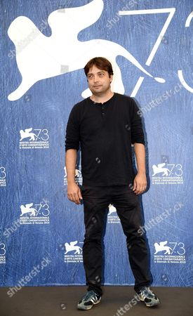 Stock Picture of Italian Director Ronny Trocker Poses During a Photocall For 'Die Einsiedler' (the Eremites) at the 73rd Annual Venice International Film Festival in Venice Italy 02 September 2016 the Festival Runs From 31 August to 10 September Italy Venice