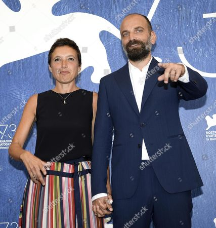 Stock Image of Italian Directors Massimo D'anolfi (r) and Martina Parenti (l) Pose During a Photocall For 'Spira Mirabilis' at the 73rd Annual Venice International Film Festival in Venice Italy 04 September 2016 the Festival Runs From 31 August to 10 September Italy Venice