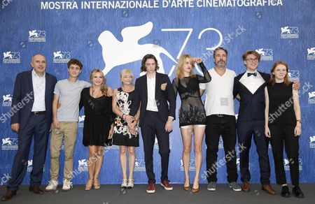 Belgian Director Fien Troch (4-r) Poses with Cast Members During a Photocall For 'Home' at the 73rd Annual Venice International Film Festival in Venice Italy 03 September 2016 the Festival Runs From 31 August to 10 September Italy Venice