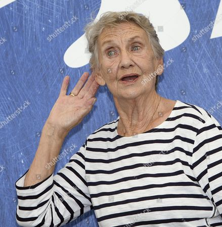 Austrian Actress Ingrid Burkhard Poses During a Photocall For 'Die Einsiedler' (the Eremites) at the 73rd Annual Venice International Film Festival in Venice Italy 02 September 2016 the Festival Runs From 31 August to 10 September Italy Venice