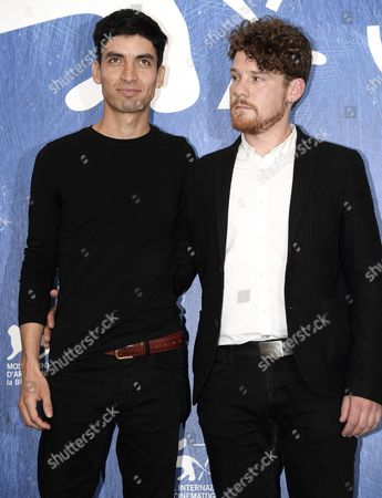 Us Director Christopher Murray (r) and Chilean Actor Michael Silva Poses During a Photocall For 'El Cristo Ciego' (the Blind Christ) at the 73rd Annual Venice International Film Festival in Venice Italy 02 September 2016 the Festival Runs From 31 August to 10 September Italy Venice